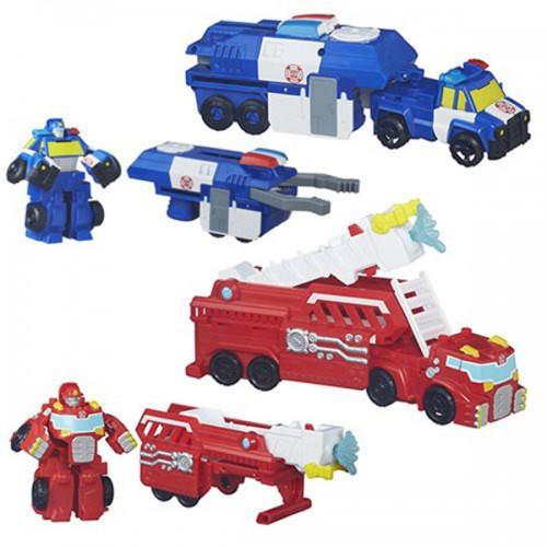 Heroes Трансформеры спасатели: Машинки-спасатели Playscool Hasbro