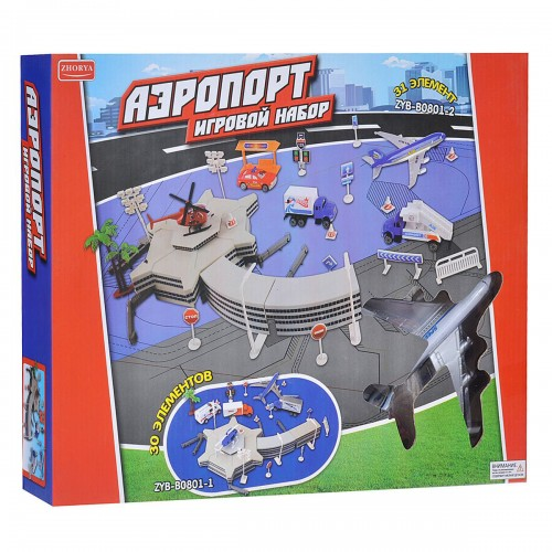 Игровой набор аэропорт Zhorya