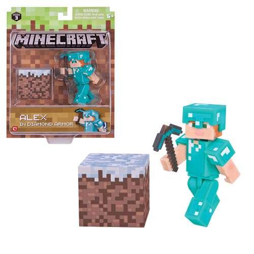 Игровой набор Алекс с оружием Майнкрафт (Minecraft)