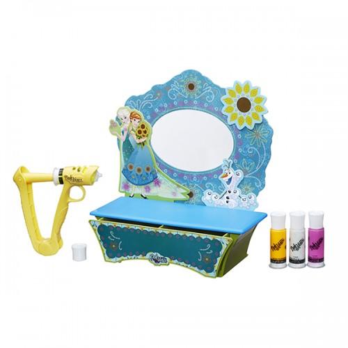 """Игровой набор Doh Vinchi для творчества """"Стильный туалетный столик Холодное Сердце"""" Play Doh (Плей До)"""