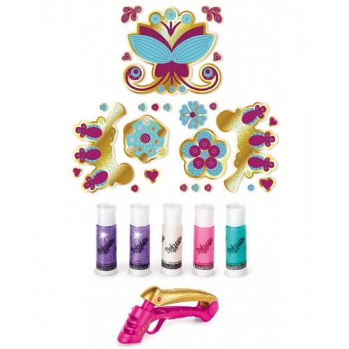 Игровой набор Doh Vinchi Набор для творчества украшение-стикер для стены Play Doh (Плей До)