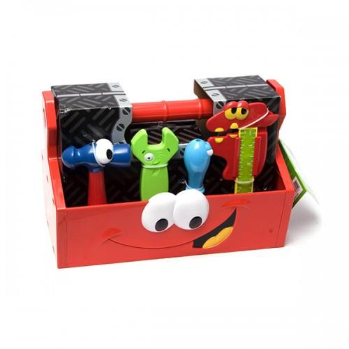 Игровой набор инструментов из 14 шт в коробке Boley