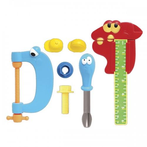 Игровой набор инструментов из 7 шт Boley