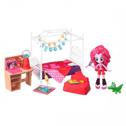 """Игровой набор мини-кукол Equestria Girls """"Пижамная вечеринка"""" My Little Pony Hasbro"""