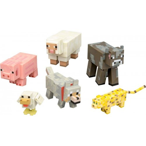 """Игровой набор """"Животные"""" Майнкрафт (Minecraft)"""
