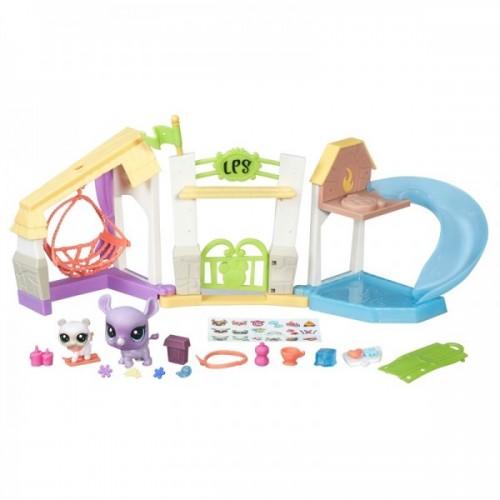 """Игровой набор """"Городские сценки"""" Littlest Pet Shop Hasbro"""