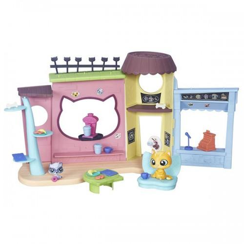 """Игровой набор """"Кафе"""" Littlest Pet Shop Hasbro"""