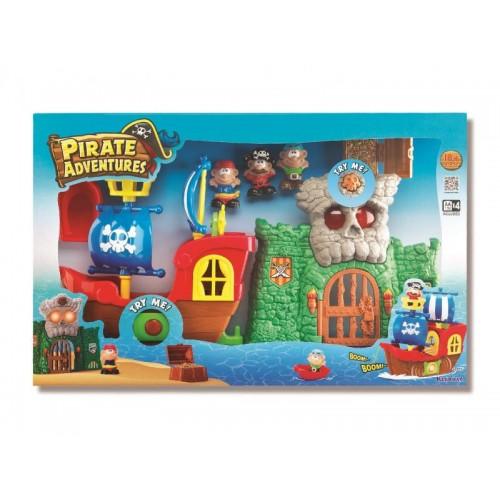 """Игровой набор """"Пиратские приключения"""" (свет, звук) Keenway"""