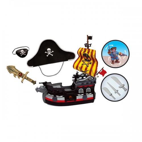 """Игровой набор """"Пиратский корабль"""" с комплектом одежды пирата Boley"""