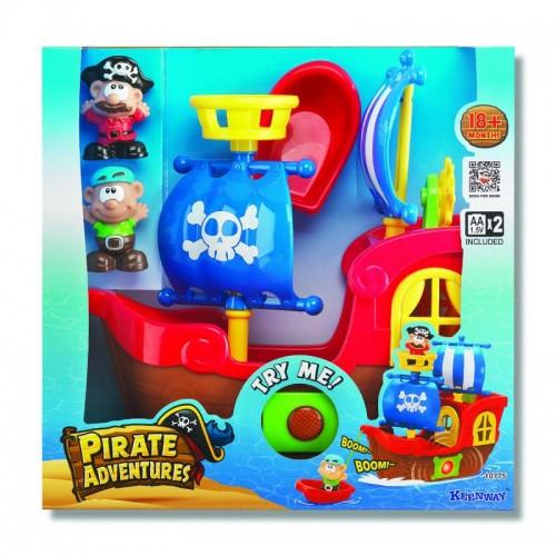 """Игровой набор """"Приключения пиратов"""" (свет, звук), (мал.) Keenway"""