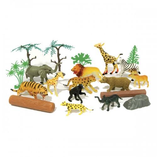"""Игровой набор Рюкзачок """"В мире животных"""" Boley"""