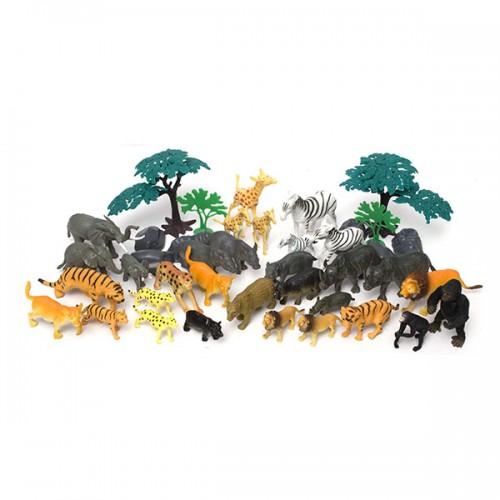Игровой набор Сафари ( 40 предметов) Boley