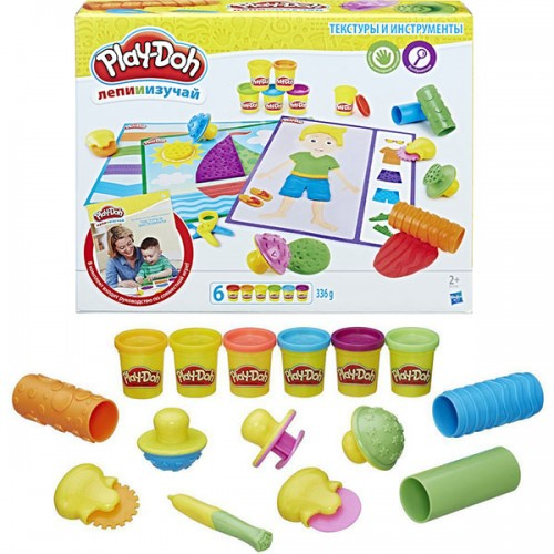 Игровой набор Текстуры и инструменты Play Doh (Плей До)