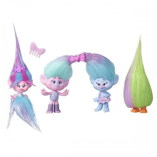Игровой набор Тролли 4 героя в игровом наборе Trolls