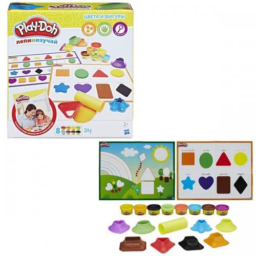 Игровой набор Цвета и Формы Play Doh (Плей До)