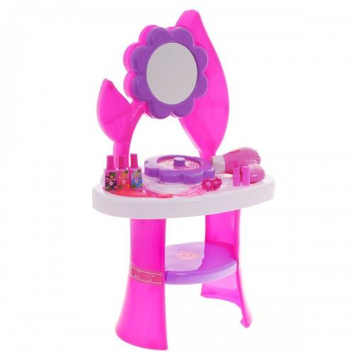 Игровой набор туалетный столик большой цветок 1TOY