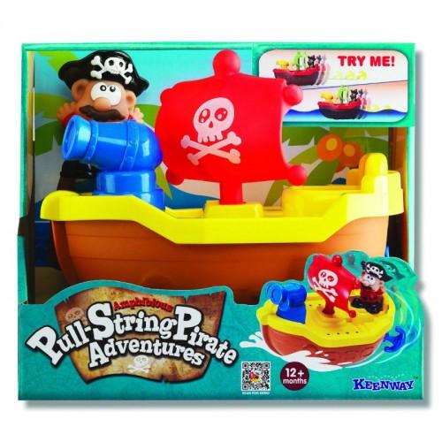 """Игрушка для купания """"Пират"""" (желтый) Keenway"""