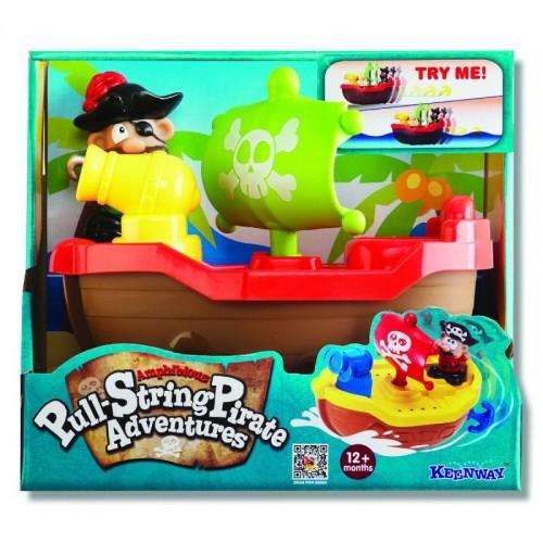 """Игрушка для купания """"Пират"""" (красный) Keenway"""