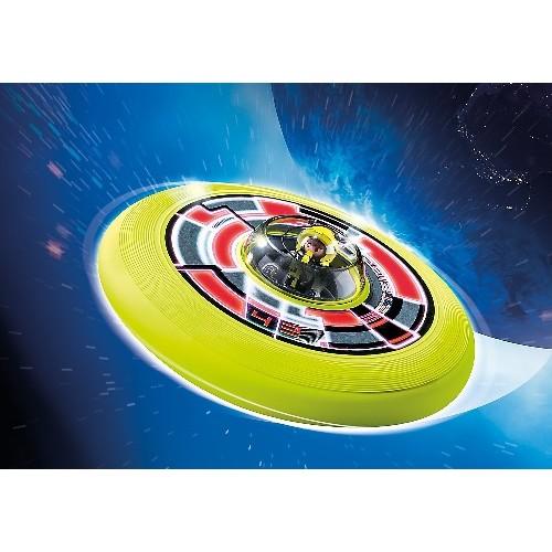 Игры на улице: Супер диск с астронавтом Playmobil (Плеймобил)