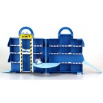 Кейс для хранения Парковка с металлической машинкой Поли Робокар Поли (Robocar Poli)