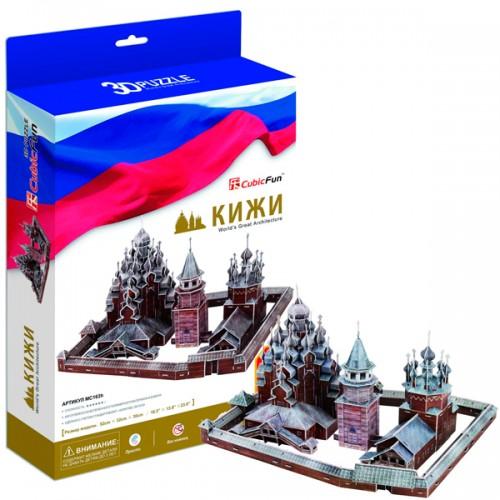 3D пазл Кижи (Россия) CubicFun