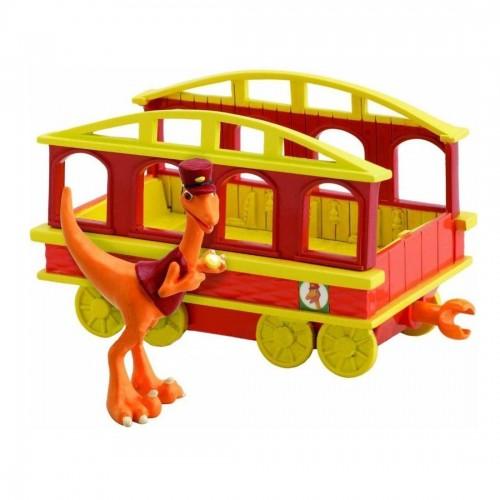 """Кондуктор 6см с вагончиком """"Поезд Динозавров"""""""