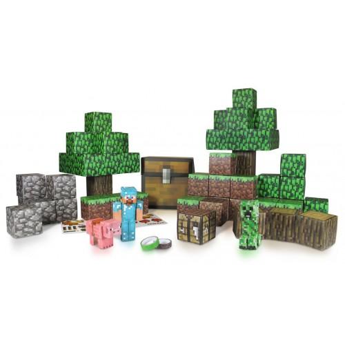 """Конструктор из бумаги """"Большой набор Делюкс"""",90 дет. Майнкрафт (Minecraft)"""