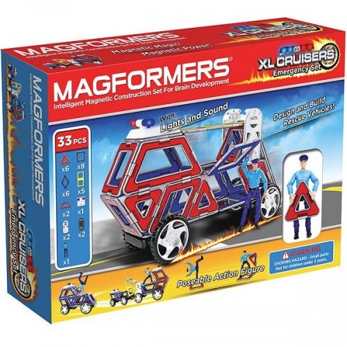 Конструктор Magformers XL Cruisers (Служба Спасения)
