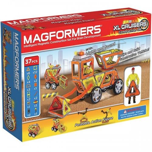 Конструктор Magformers XL Cruisers (Строители)