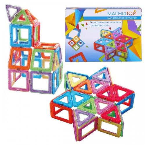 Конструктор магнитный Звезда (40 деталей) Магнитой