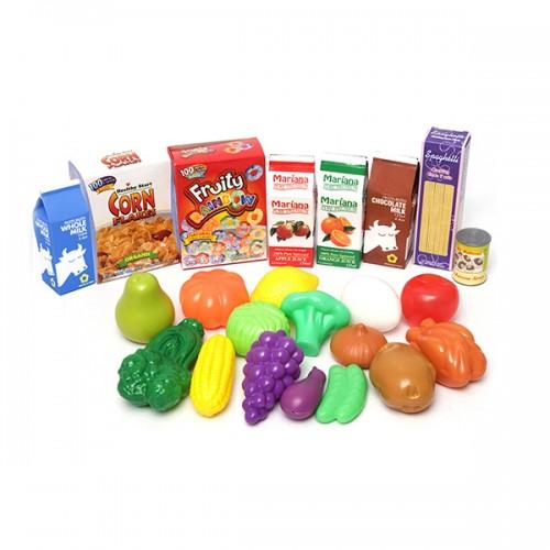 Корзинка с продуктами (23шт) Boley