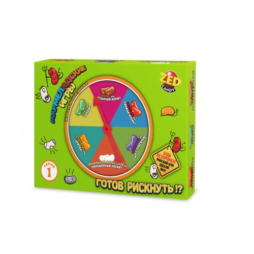 Мармеладские игры набор 1 серия, блок 1 шт. ZED