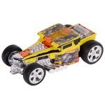 Машинка Hot Wheels со светом механическая жёлтая 14 см