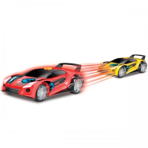 Машинка Hot Wheels свет+звук электромеханическая жёлтая 25 см