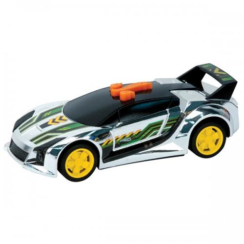 Машинка Hot Wheels свет+звук спойлер чёрная 13,5 см