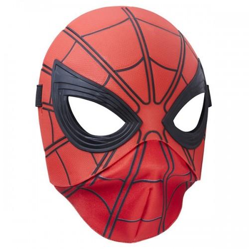 Маска человека-паука плаcтик и ткань Hasbro