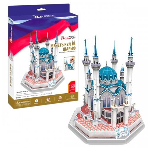 3D пазл Мечеть Кул Шариф (Россия) CubicFun