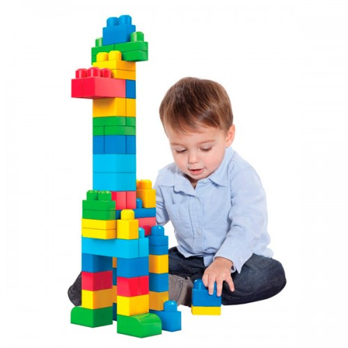 Mega Bloks First Builders Конструктор из 60 деталей