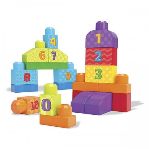 "Mega Bloks First Builders Набор ""Учимся считать"""