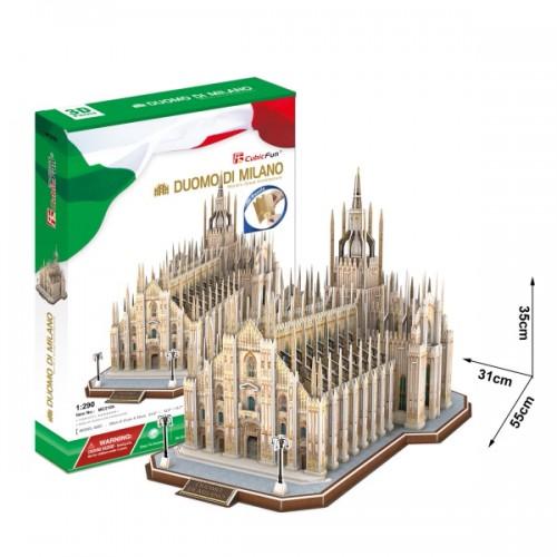 3D пазл Миланский Собор (Италия) CubicFun
