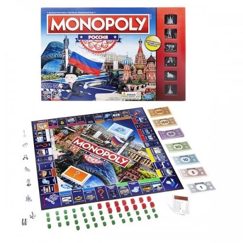 Монополия Россия (новая уникальная версия) Hasbro