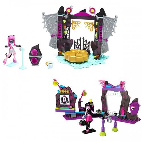 Monster High: монстрические игровые наборы Mega Bloks