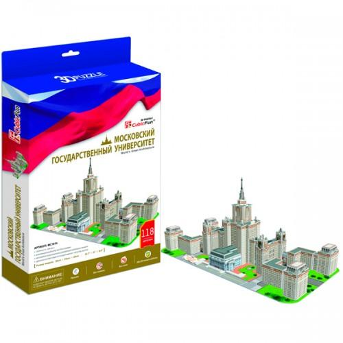 3D пазл Московский Государственный Университет (Россия) CubicFun