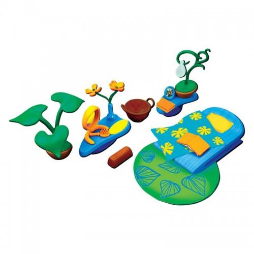 Набор аксессуаров для спальной комнаты (с зеленым ковром) Monchhichi
