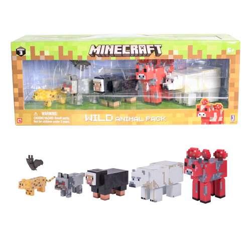 Набор фигурки животных 6 шт. Майнкрафт (Minecraft)