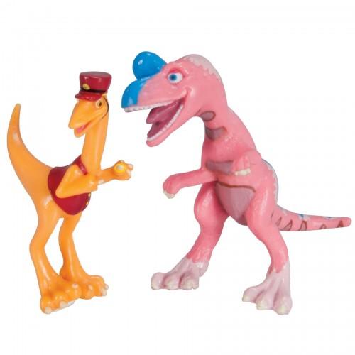 """Набор фигурок Король Криолофозавр и X-Ray Кондуктор """"Поезд Динозавров"""""""