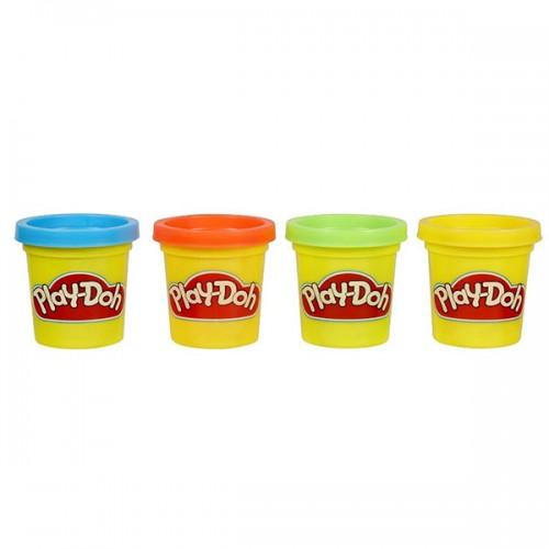 Набор из 4 Мини баночек Play Doh (Плей До)