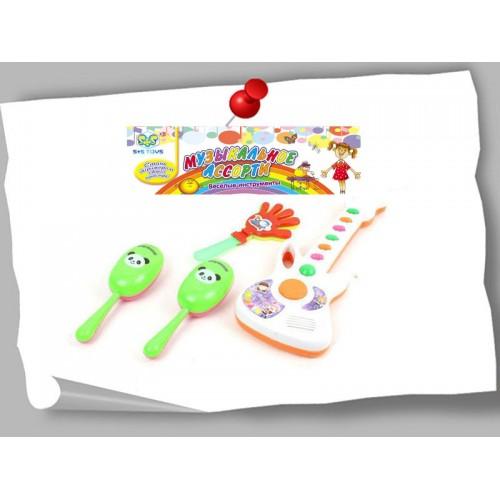 Набор музыкальных инструментов 15,5*28*5см S+S Toys