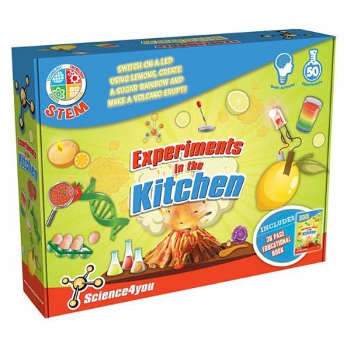 """Набор опытов """"Моя лаборатория: эксперементы на кухне"""" Science4you"""