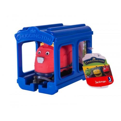 Набор «паровозик Джекман с гаражом» Chuggington